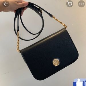 NWOT tory Burch Mason Flap Cross-Body Bag